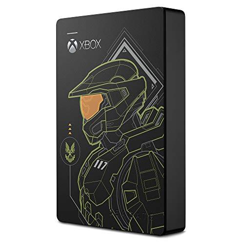 Disco Duro Externo 5 TB Seagate Game Drive para Xbox Halo Edition edición especial