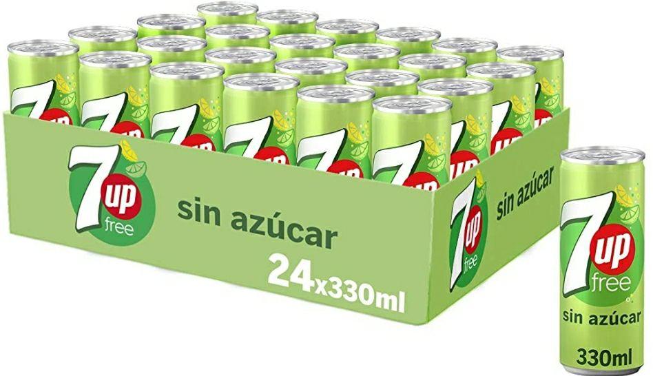 7Up Refresco De Lima Limón - Pack de 24 x 330g