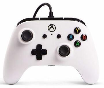 Mando con cable Power A Core blanco - Xbox One (Recogida en tienda)