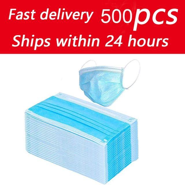Pack 500 mascarillas desechables (0'03€/ud)