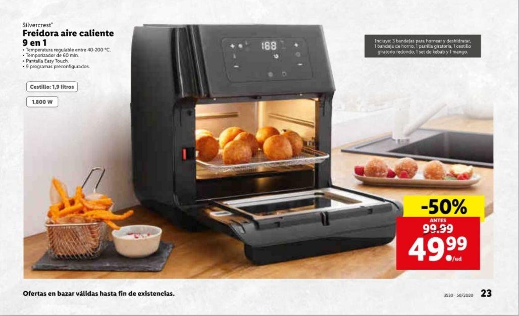 Freidora aire caliente 9 en 1( oferta de apertura Cartagena)