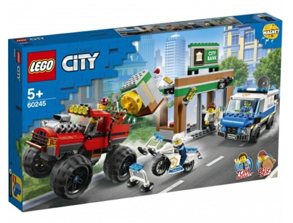 Lego city policia atraco monster truck ( recogida en tienda, gastos de envío gratis)