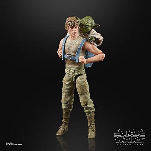 Star Wars The Black Series Luke Skywalker y Yoda (Entrenamiento Jedi)