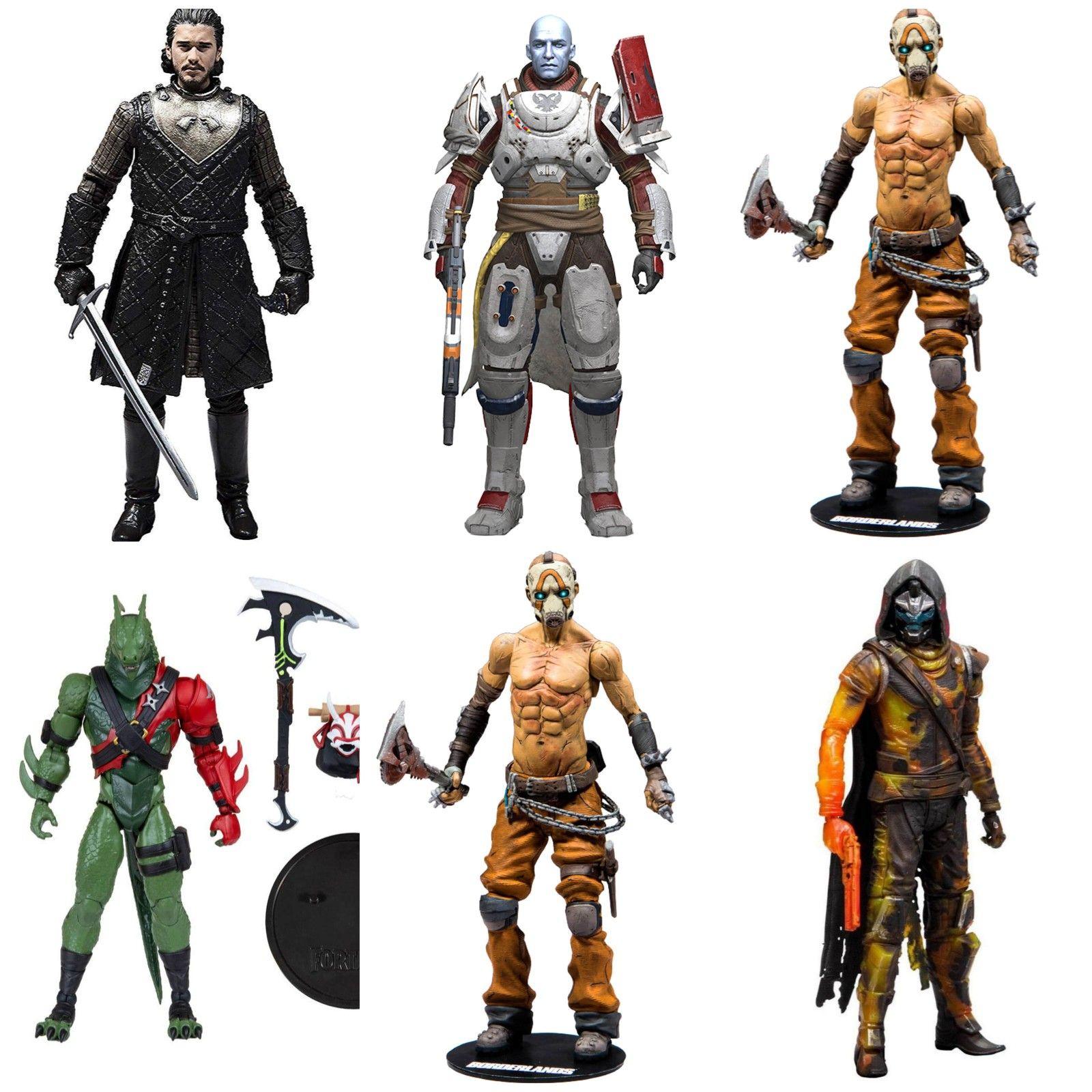 Figuras de acción coleccionables - Fortnite, Borderlands, Destiny y Juego de Tronos