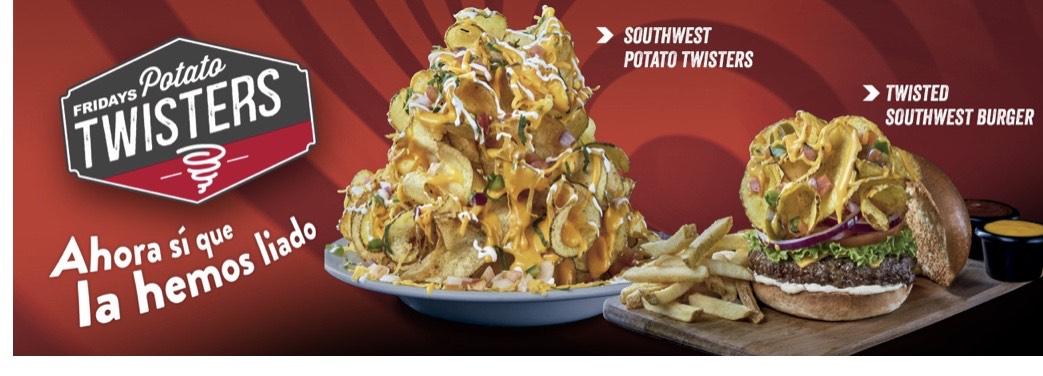 Hamburguesa gratis en Fridays (socio Club Vips)