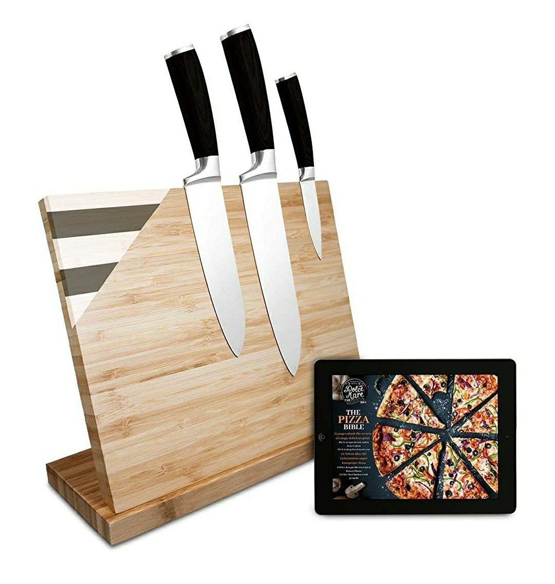 Soporte magnetico cuchillos cocina