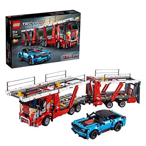 LEGO 42098 Technic Camión de Transporte de Vehículos con Coche
