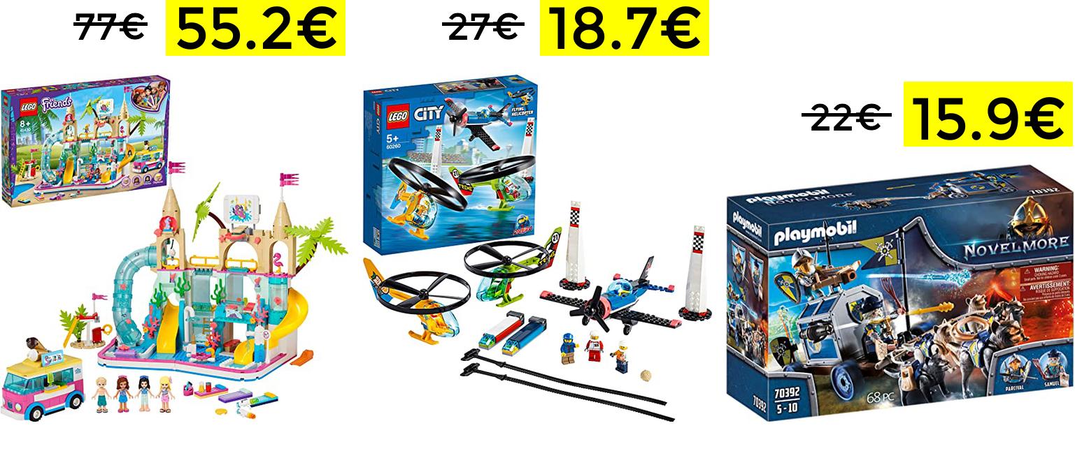 Descuentos en selección de juguetes: LEGO,PINYPON y PLAYMOBIL