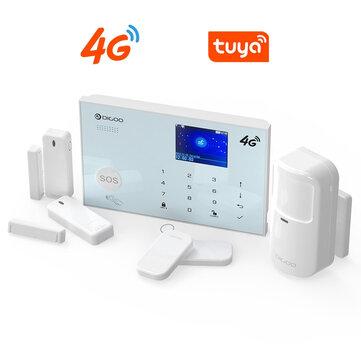 Centralita de seguridad Digoo con 4G + accesorios