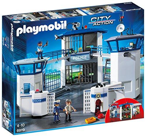 Comisaría de Policía con Prisión de Playmobil a precio mínimo (256 piezas)