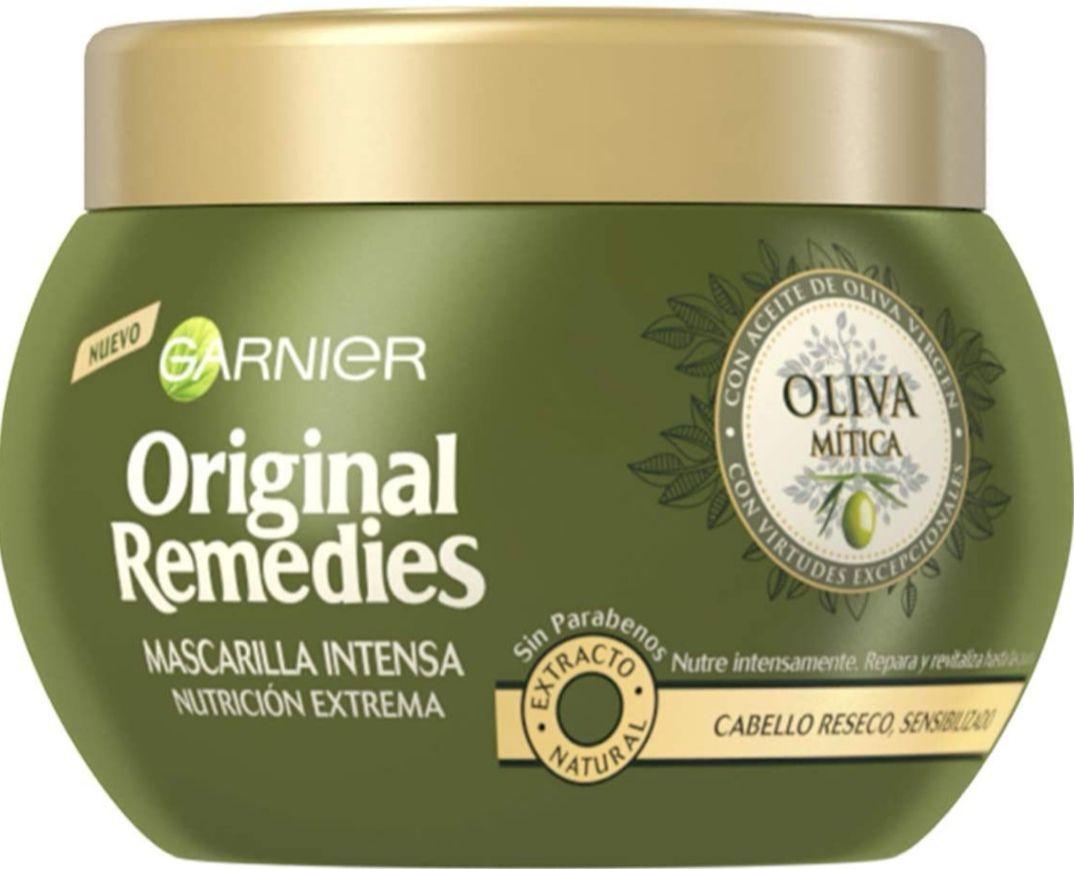 Garnier Original Remedies Oliva Mítica mascarilla capilar pelo seco - 300 ml