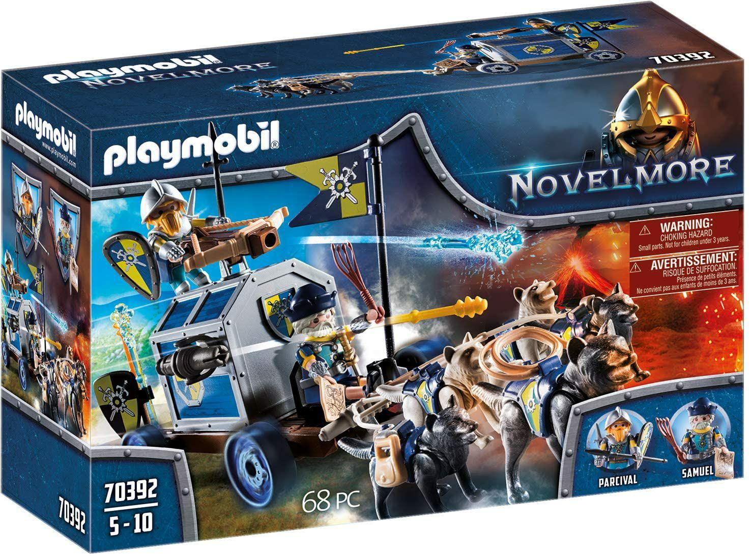 PLAYMOBIL- Transporte del Tesoro Novelmore