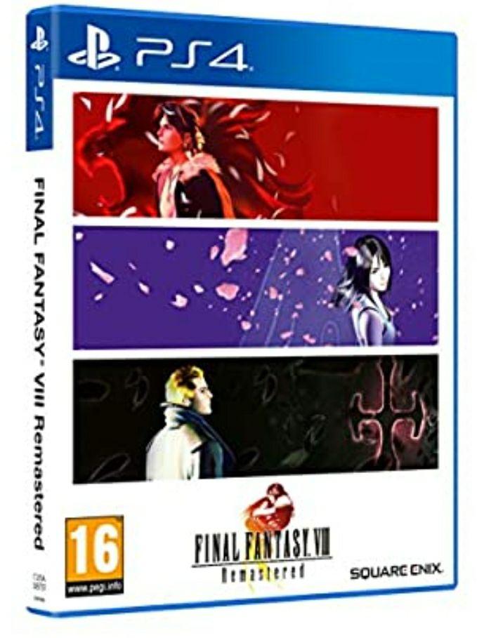 Final Fantasy VIII Remasted Ps4