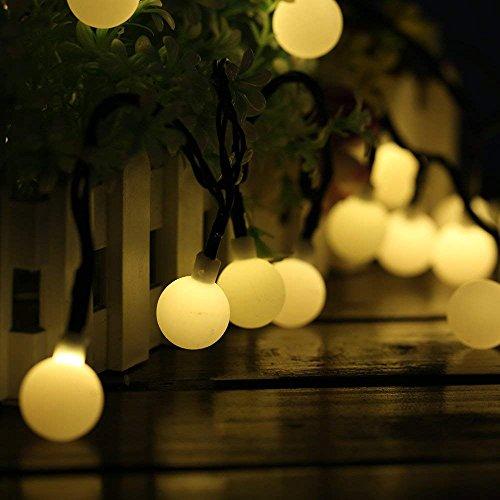 Guirnaldas Luces Exterior Solar Luces LED Navidad