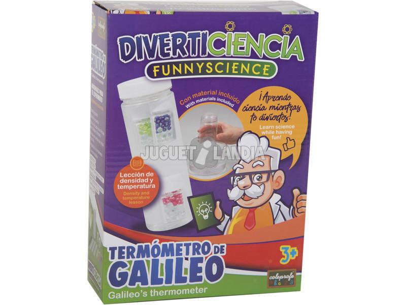 Diverticiencia Crea Tu Termómetro de Galileo