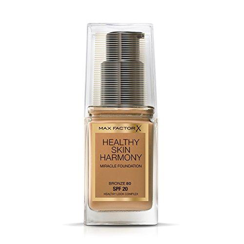 Max Factor Healthy Skin Harmony Base de Maquillaje Tono 80 Bronze