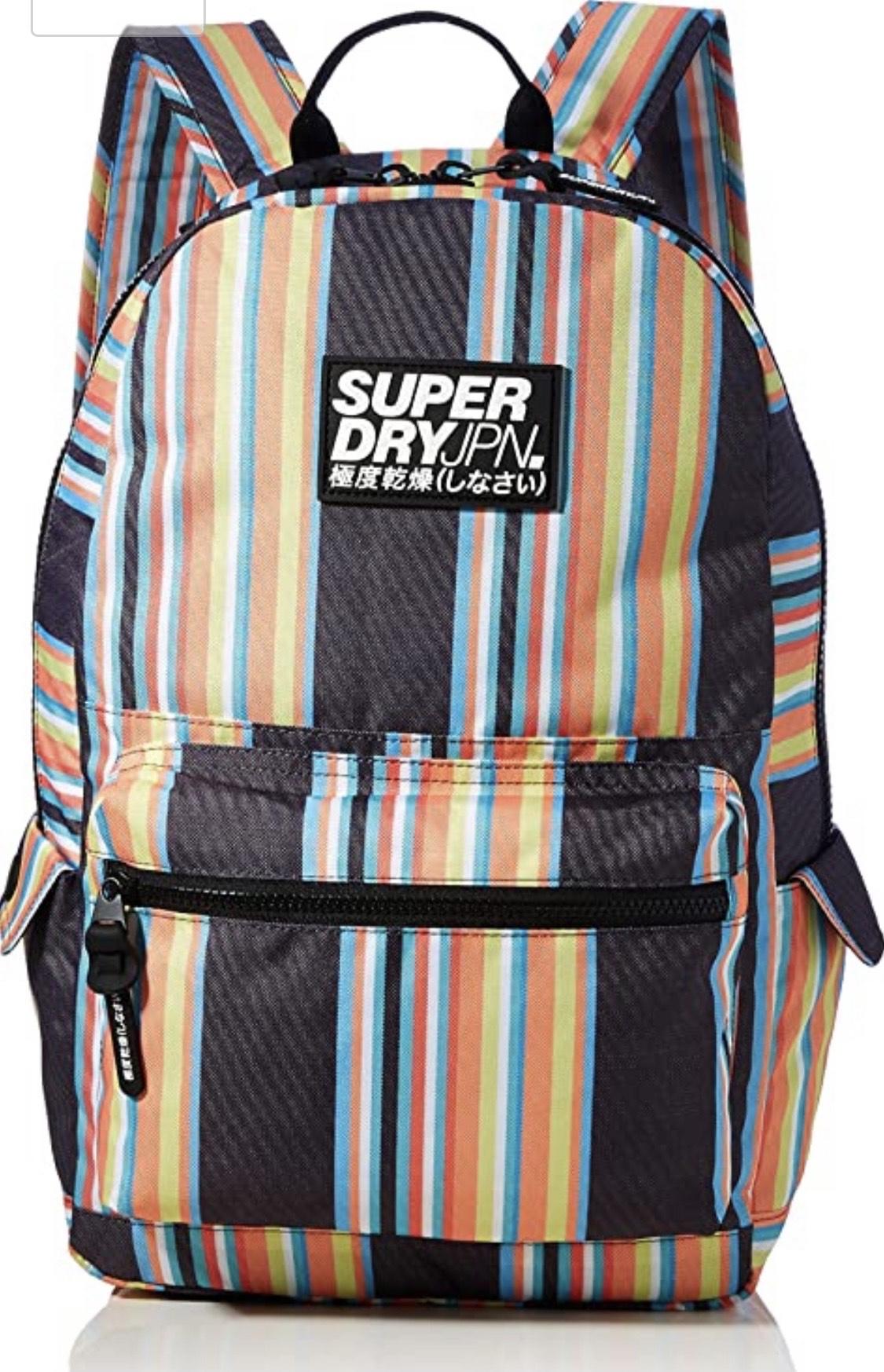 Superdry Montana - Bloque para Hombre, Color Gris, Talla 30,5x13,5x46 cm (B x H x T)