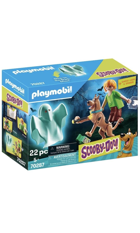 Playmobil - Scooby-Doo, Scooby & Shaggy con Fantasma