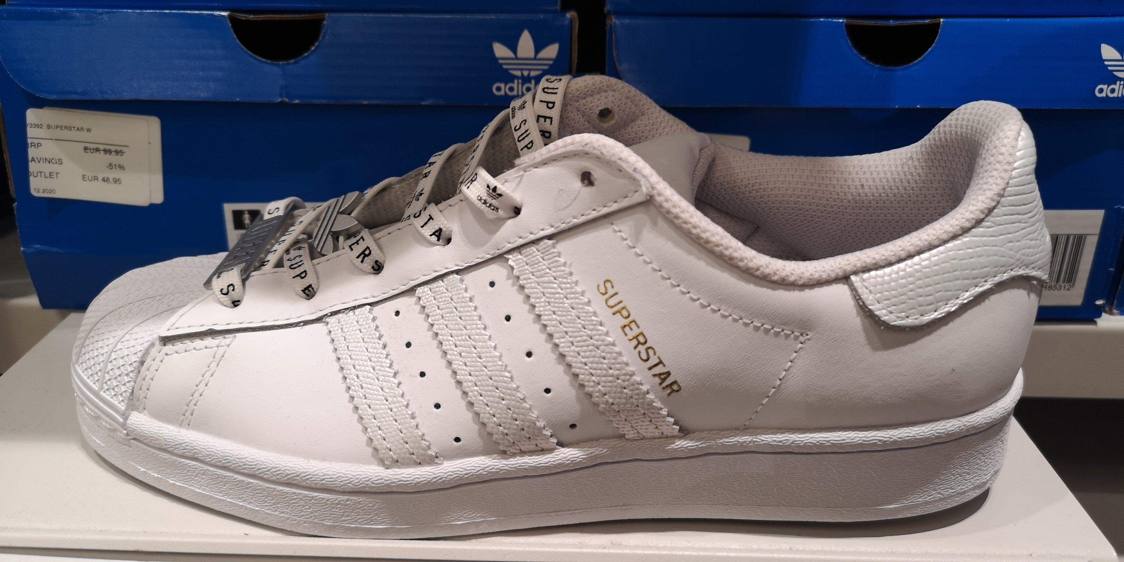 Álbum de graduación neumático Limpia la habitación  Adidas Superstar Adidas Outlet Alcorcón » Chollometro