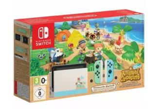 Nintendo Switch Ed. Animal Crossing (+ Recopilatorio otras tiendas)
