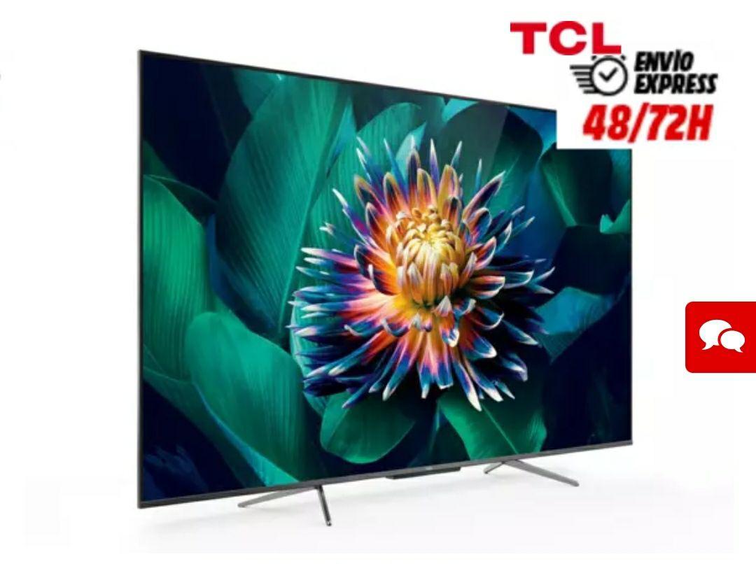 """TV 55"""" QLed TCL 55C715 con Google Assistant"""