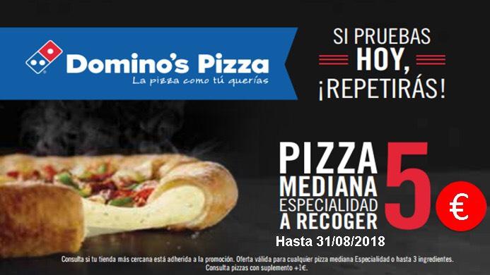 Domino's Pizza 5€ Mediana!