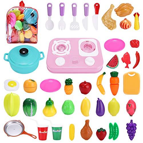 42 piezas frutas y verduras