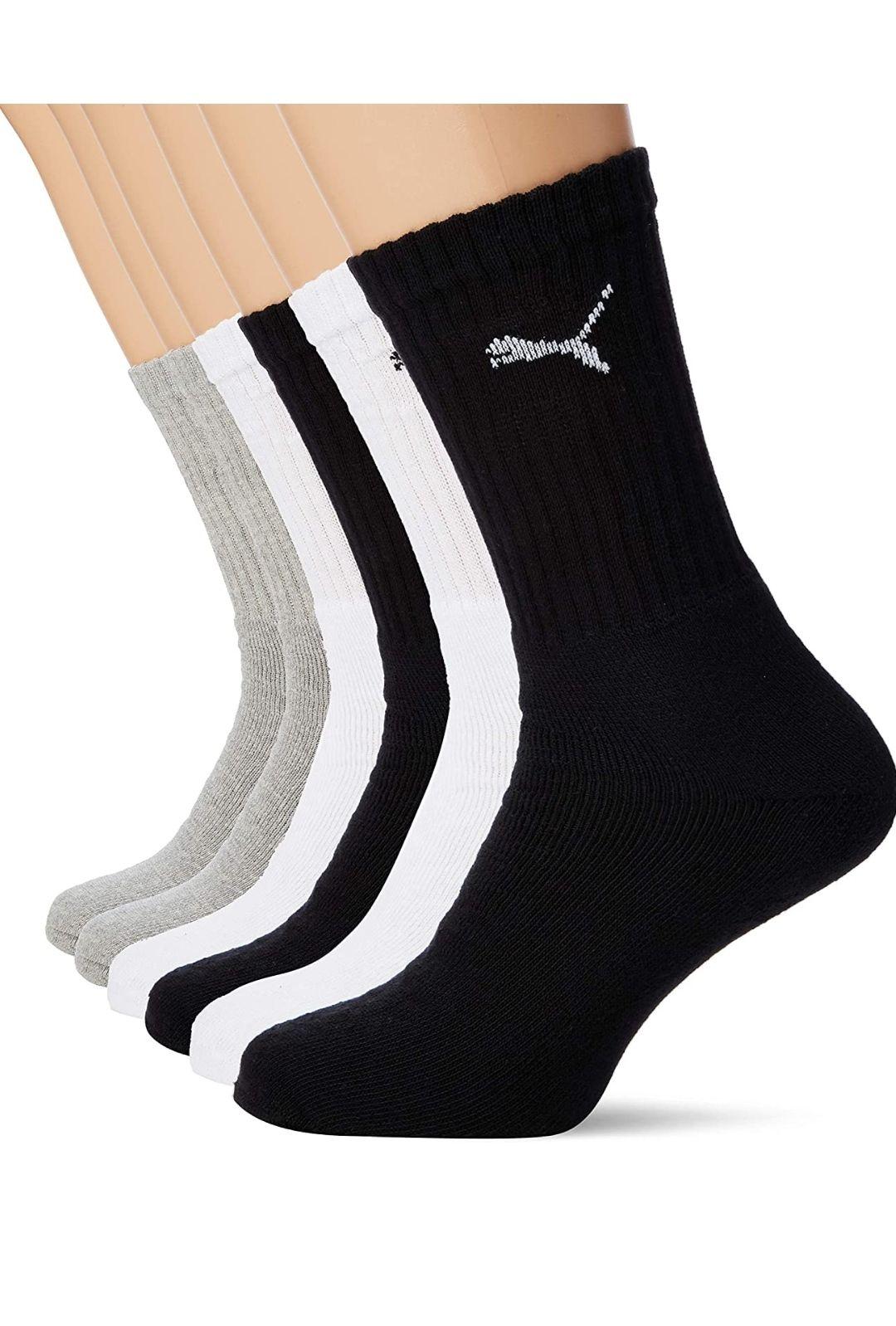 Calcetines deportivos pack 6 Puma talla 39- 46