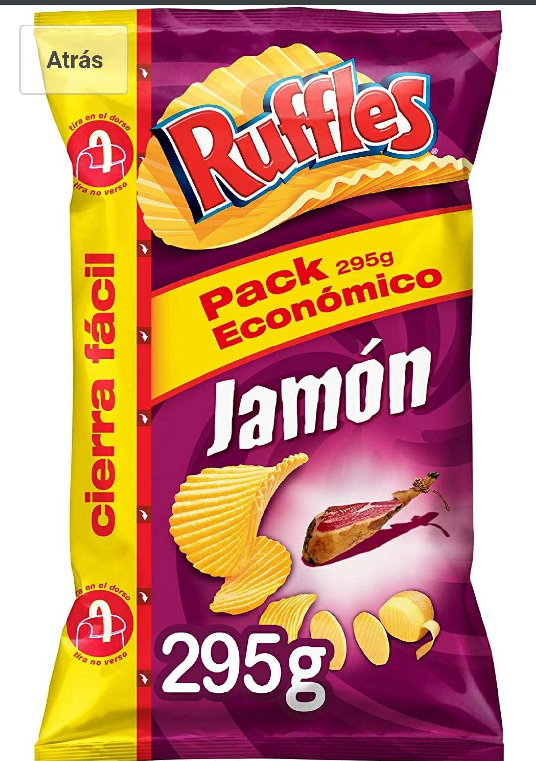 Ruffles Jamon, Patatas fritas - 295