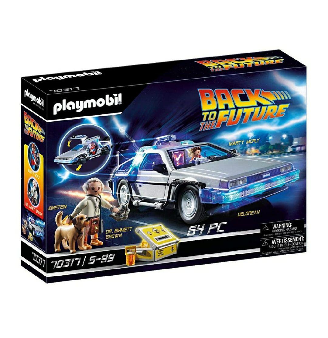 Playmobil Delorean regreso al futuro.