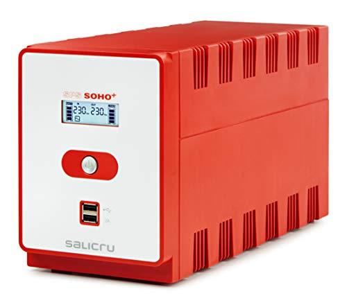 Sistema de alimentación ininterrumpida (sai/ups) de 1200 va Line-Interactive y con Doble Cargador USB