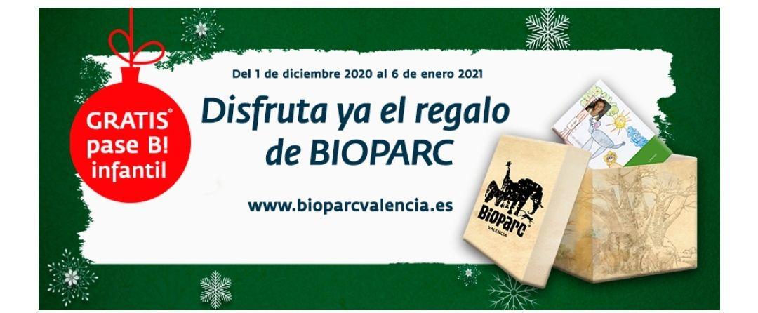 Este año BIOPARC Valencia adelanta la Navidad con el primer regalo, el Pase B! anual infantil(gratis)de 4 a 12 años