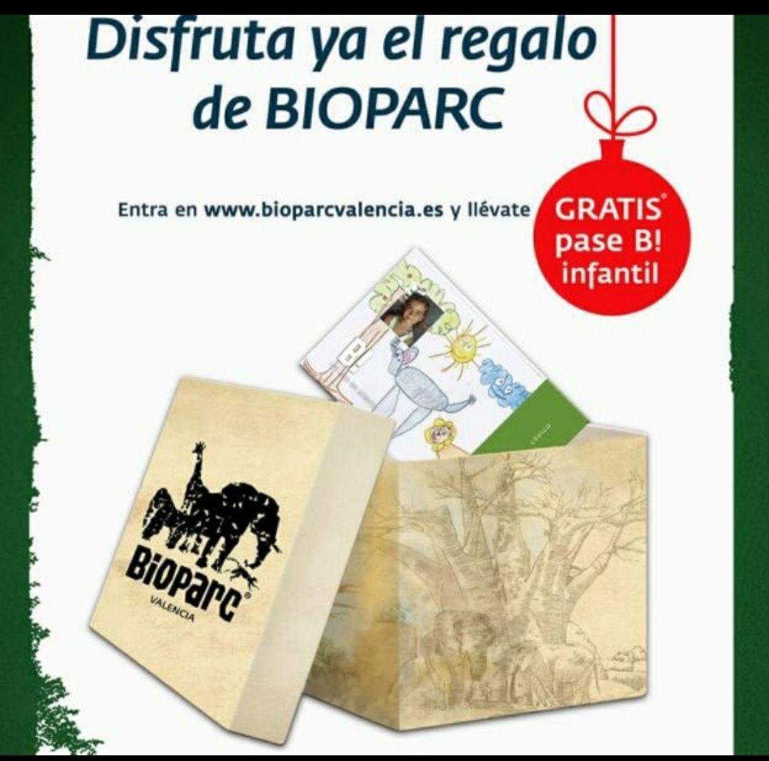 Pase gratis para niñ@s Bioparc Valencia