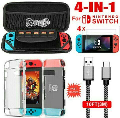 Bolsa transporte mas extras Nintendo Switch