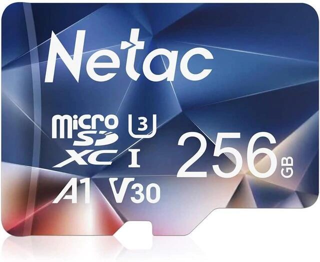 MicroSD 256GB Netac 100 mb/s A1 U3 V30