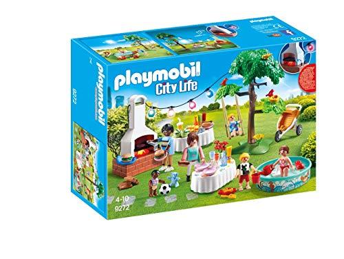 PLAYMOBIL City Life Fiesta en el Jardín, con Efectos de Luz