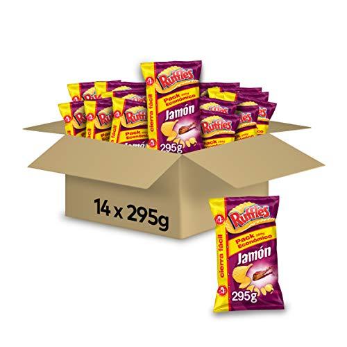 Pack de 14 Ruffles Jamón solo 24€ ️