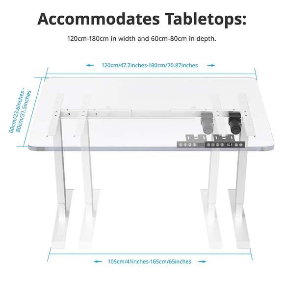 [Desde España] Marco de mesa eléctrico ajustable ACGAM