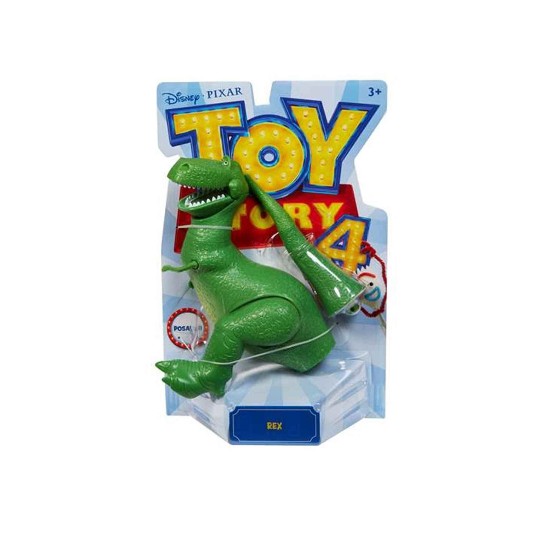 DISNEY TOY STORY 4 Figura Rex - Juguete, DESCUENTO o 2x1