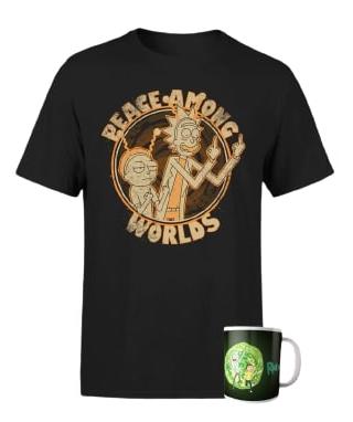 Rick y Morty Camiseta+Taza solo 11.4€
