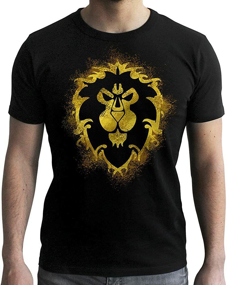 ABYstyle World of Warcraft - Camiseta de alianza
