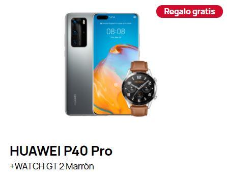 HUAWEI P40 Pro + HUAWEI WATCH GT2 de regalo