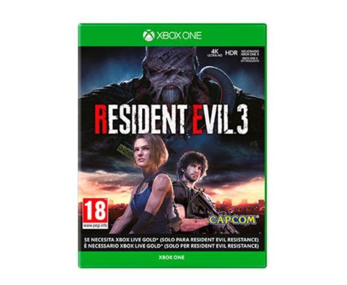 Resident Evil 3 Remake XBox One, Survival Horror *Mínimo histórico*