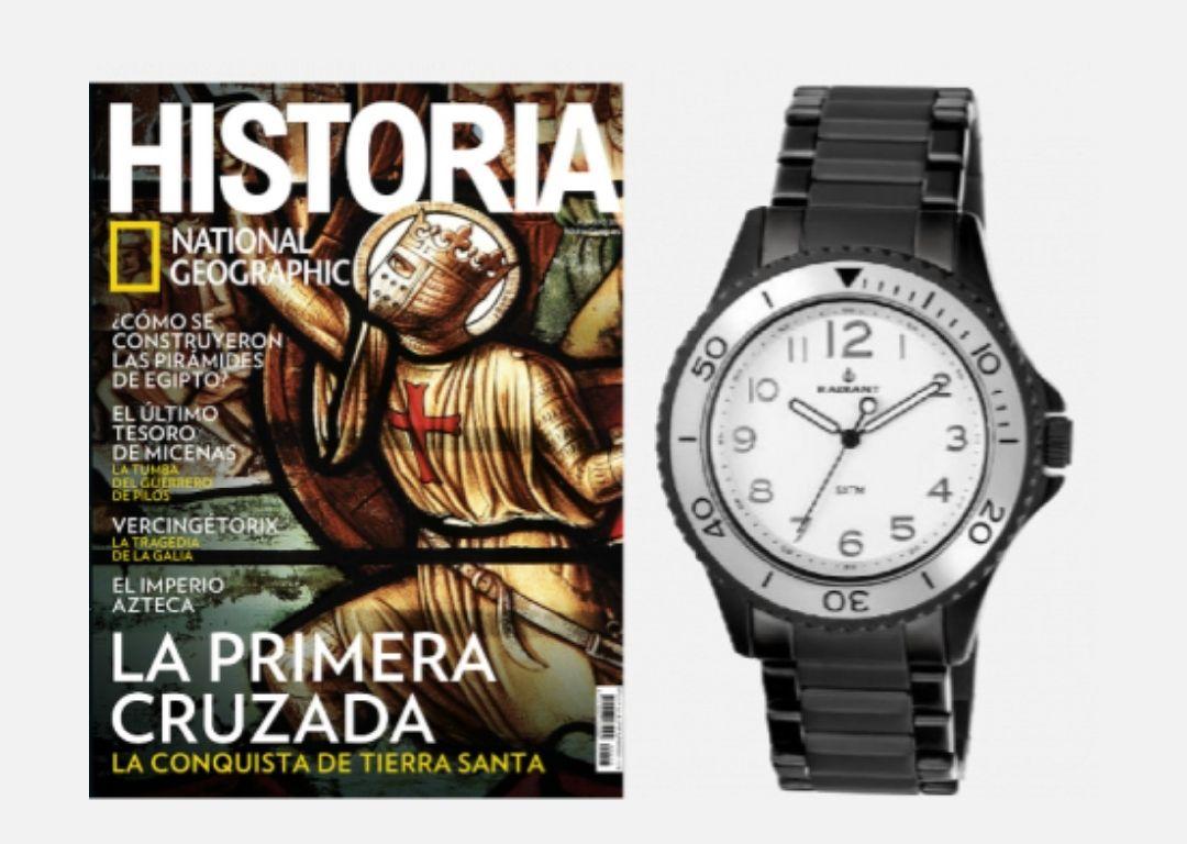 12 revistas National Geographic + Reloj Radiant Cuarzo
