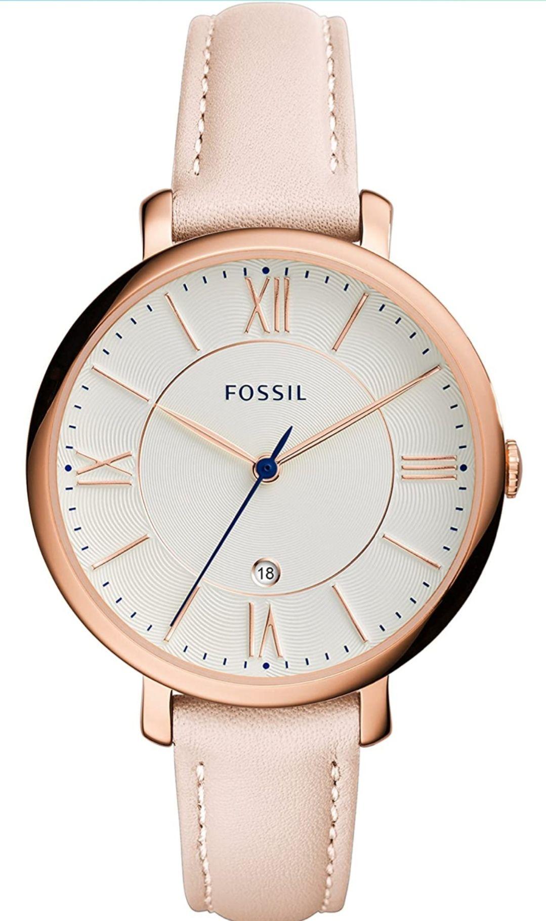 Reloj analógico mujer fossil