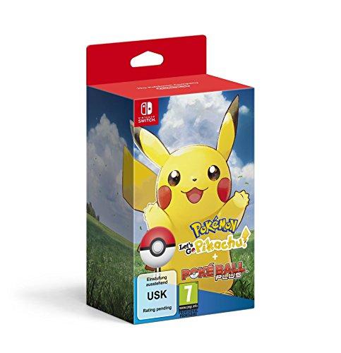 Pokémon Let's Go Pikachu! + Poké Ball Plus por 79.90€