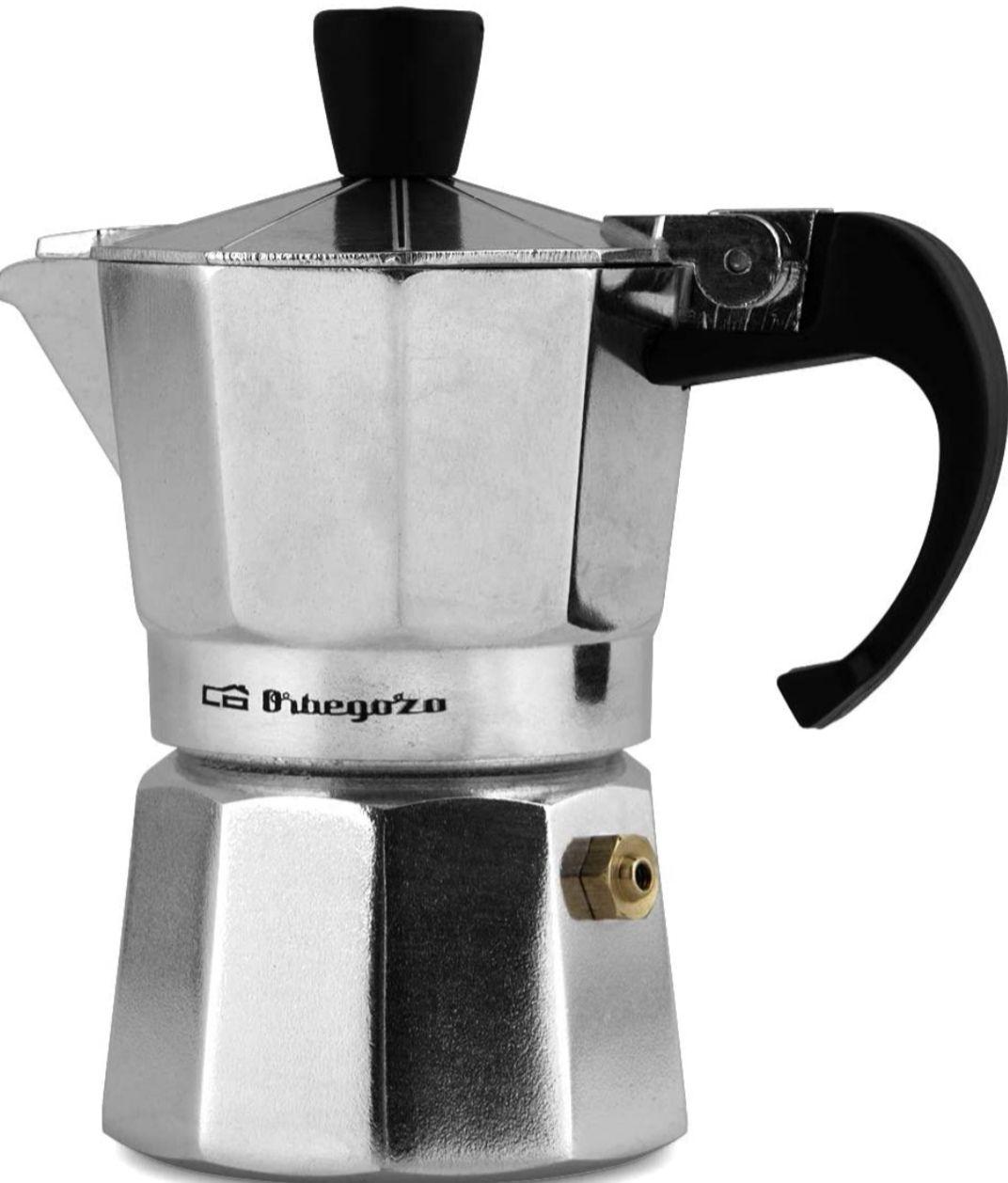 Orbegozo -Cafetera de Aluminio, 6 Tazas