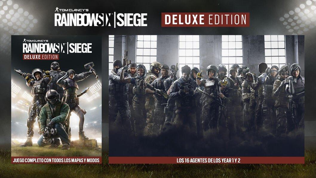 Tom Clancy's Rainbow Six Siege Deluxe Edition PC +16personajes descargables