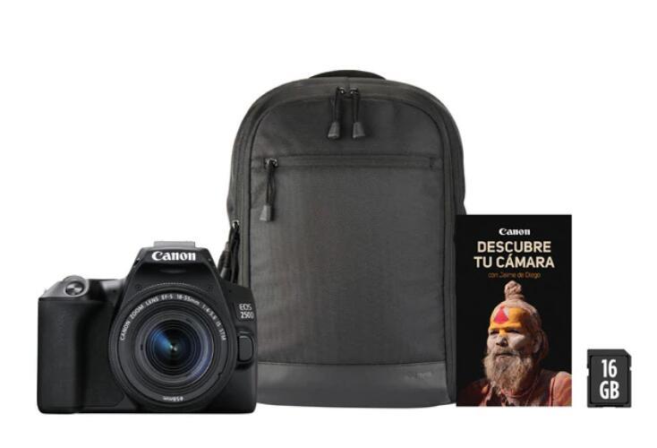 Reflex Canon 250D+18-55 IS STM