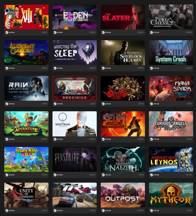 Juegos de Steam [1 - 1€, 5 por 2,99€ y 10 por 4,99€ ]